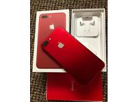iPhone 7 plus RED 128GB Unlocked
