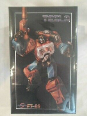Transformers Fans Toys FT-09 Tesla ( Masterpiece Perceptor ) MISB New USA Seller