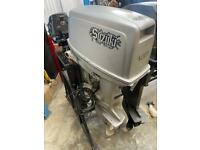 Suzuki 25hp outboard engine for boat