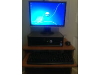 Dell optiplex 380 WINDOWS 7 full pc setup
