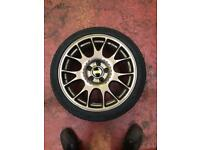BBS CH 18 inch alloy wheels with uniroyal tyres BMW