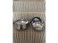 Indian curry bowl set