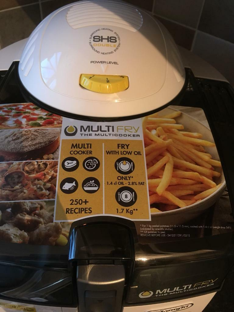 Delonghi multi Fry low oil acti fry new & boxed