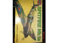 Spitfire Mk1a 1:24 scale kit by Airfix for sale  Warwick, Warwickshire