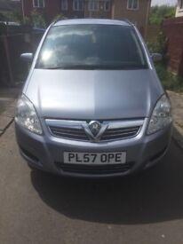 Vauxhall Zafira Life, 1.6L Petrol, 2008, Silver