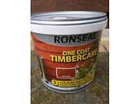 One coat timber care fence paint new