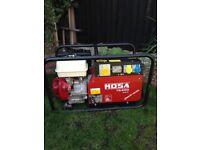Mosa ts200 plus welder/genarater
