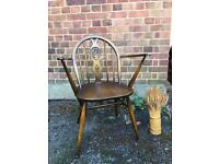 VINTAGE ERCOL ARMCHAIR GENUINE FREE DELIVERY 🇬🇧