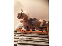 Mamas and Papas 'Fudge' rocking horse suit 12-24 months