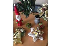 Bag of mixed Christmas Decorations