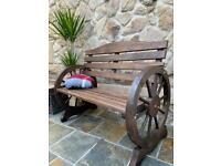 Canadian Pine Wooden Garden Bench