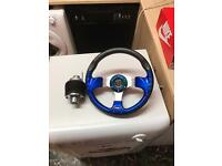 Peugeot clip release steering wheel with boss