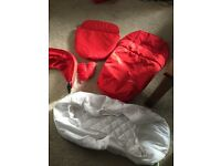 Red colour pack for mothercare xpedior