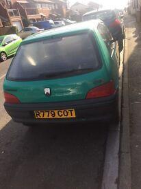 Peugeot 106 for sale**low milege**