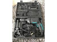 Spear & Jackson impact drill, case and drill bits