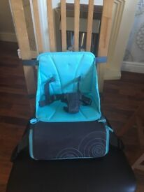 Munchkin child's travel booster seat. Immaculate - never used. Bought for £21.99