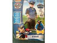 Chase from Paw Patrol dressing up outfit - 1-2 years