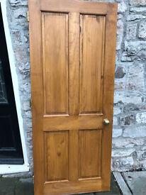 """Wood door 33"""" (78cm)"""