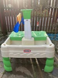 Little tikes water and sand table