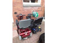 For free 2 non working mobility scooters for repair