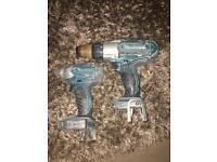 Makita impact driver and combi drill (bhp451)
