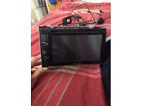 """Pioneer AVH-X2500BT Double Din Built in Bluetooth DVD AV Unit 6.1"""" Touchscreen"""