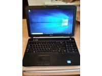 """Dell 15.6"""" HD 8GB RAM 120GB SSDi3-2350 2.30GHz Win10Home Laptop Latitude e5520"""