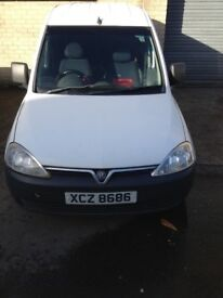 VAUXHALL COMBO 2004 1.7 DIESEL/VALUABLE REGISTRATION
