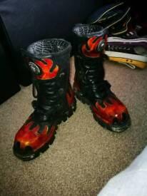 New Rock Boots 8UK