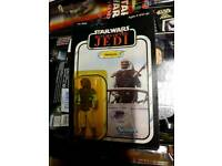 Star wars original carded figures