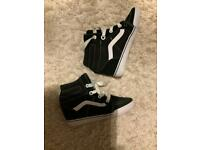 Vans for women trainer boots wedge style Clearance