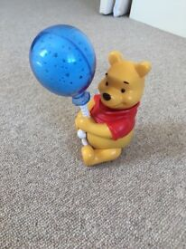 Tomy Winnie the Pooh night light and lullaby