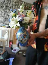 Elvis Presley Vase With Light