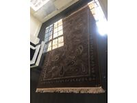 Large brown rug for sale