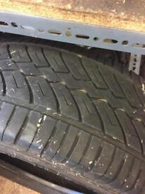 4 used tyres