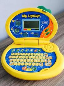 Vtech kids laptop, immaculate, quick sale at only £10, costs over £30