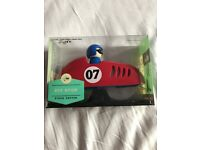 Race car red pizza cutter pit stop