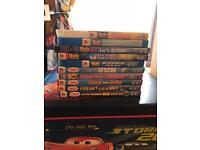 Thomas tank and bob the builder dvds