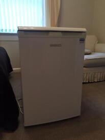 Beko under the counter fridge with small built in freezer
