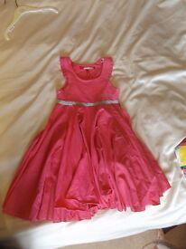 Girls Miss 60 pink dress age 6