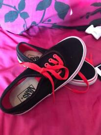 Vans size 13 as new