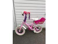 "Appollo cupcake 12"" girls bike"