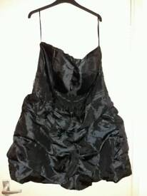 Joe Browns black strapless ruffle dress