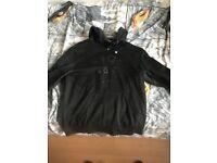 Mens black hugo boss hoodie size small 10/10