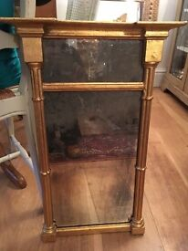 Lovely Gothic style Gilt mirror