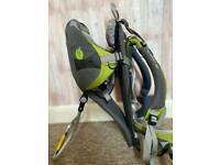 LittleLife Discoverer Child Carrier with Rain Cover