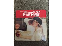 CLASSIC COLLECTIBLE COCA COLA COASTERS RARE (IN EXCELLENT CONDITION)