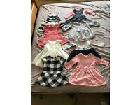 Various Baby Girl Clothes - 6-9 months