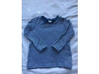 9 x 9-12 month baby boys long sleeve tops and coat