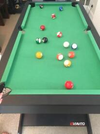 BRAND NEW 5ft folding pool table. STILL IN BOX